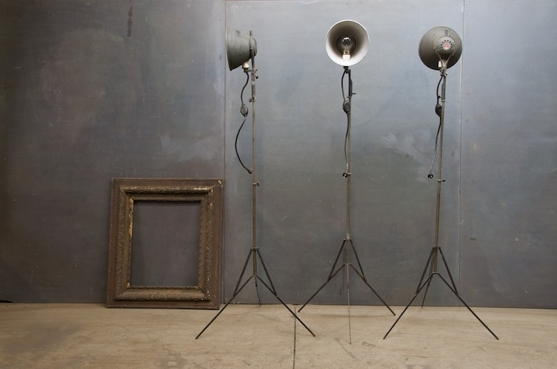 1930s Movie Set Tripods Floor Lamps Factory 20