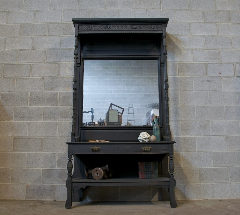 Victorian Eastlake Pier Mirror Cabinet : Factory 20