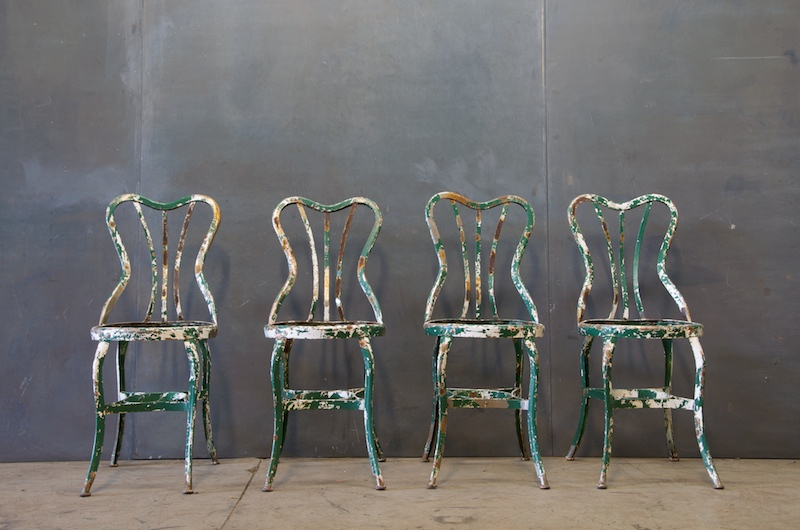 Great Vintage Industrial Toledo Metal Chair Factory With Industrial Chairs.