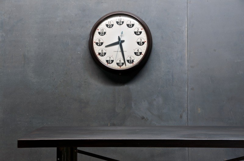 Vintage Military Recruitment Office Clock : Factory 20