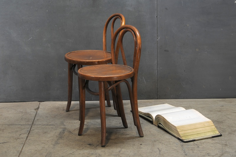 Petite Cafe Thonet Bentwood Chairs Factory 20