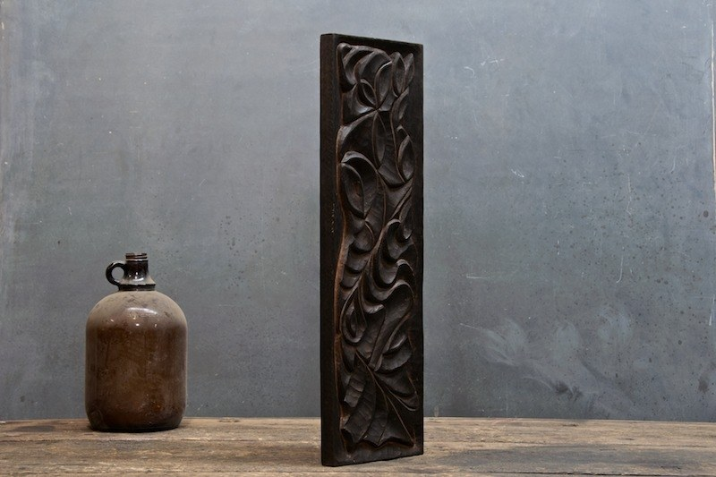 Teak Flora Fauna Wall Carving Sculpture Factory 20