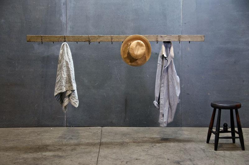 vintage wardrobe rack 1