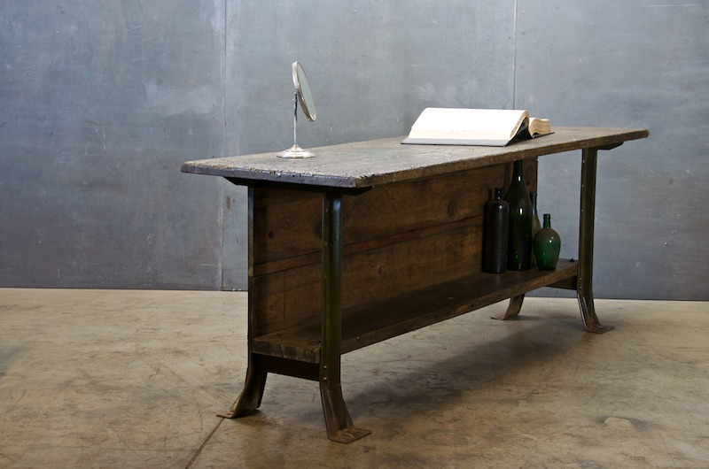 antique workbench table 2
