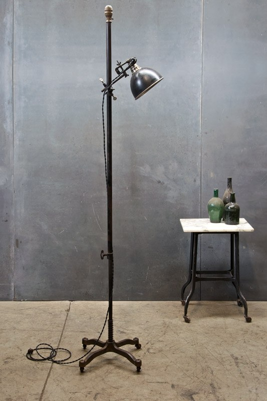 Vintage Nyc Articulate Floor Lamp Factory 20