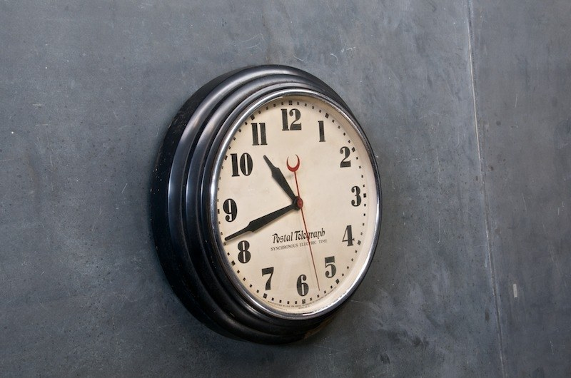 1920s Saltoon Town Hall Wall Clock Factory 20