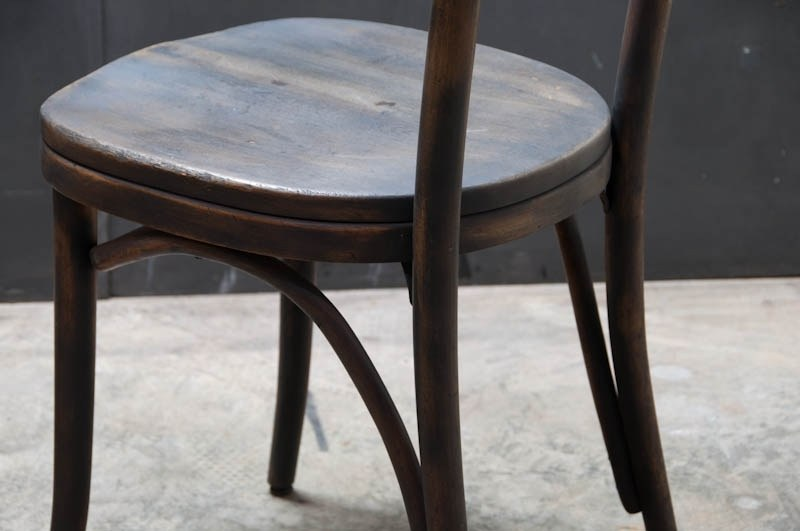 Dutchbone Stoel Blackwood : Black wood bistro chairs.vienna bistro dining table and 4 chairs