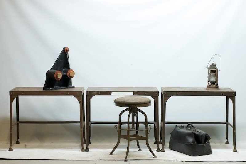 Vintage Industrial TablesDesks  Factory 20