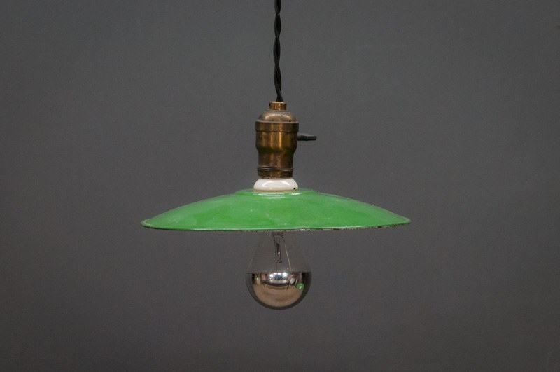 French Farmhouse Industrial Flat Pendants Factory 20