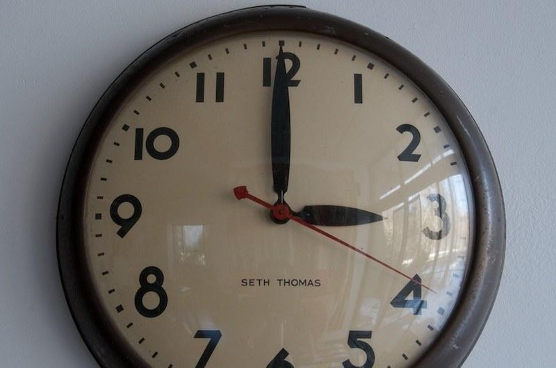 Vintage Futura Train Station Wall Clock : Factory 20